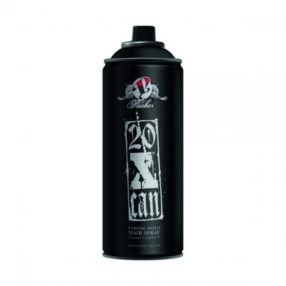 Pusher 20x can hairspray 400 ml