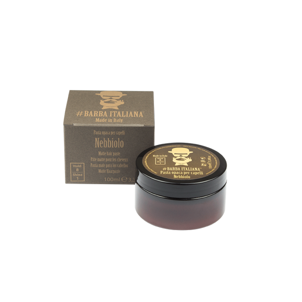 Barba Italiana Insolia Strong Matte Hair Paste 100ml