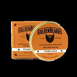 Balsam de Barba Golden Beards Toscana Beard Balm 30ml