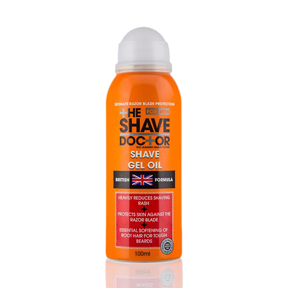 The ShaveDoctor Shave Gel Oil