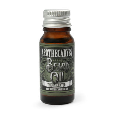 Apothecary 87 The Unscented Beard Oil 10 ml