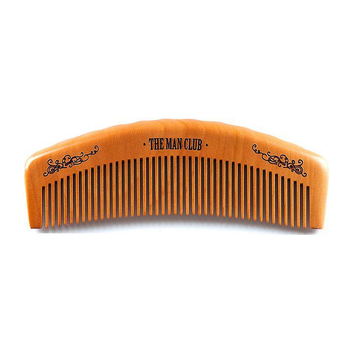 Pieptene din lemn pentru barba - the man club comb
