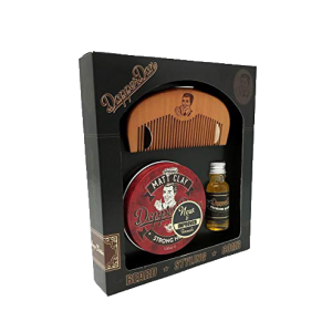 Dapper Dan Hairy Man Combo Gift Set Matt Clay
