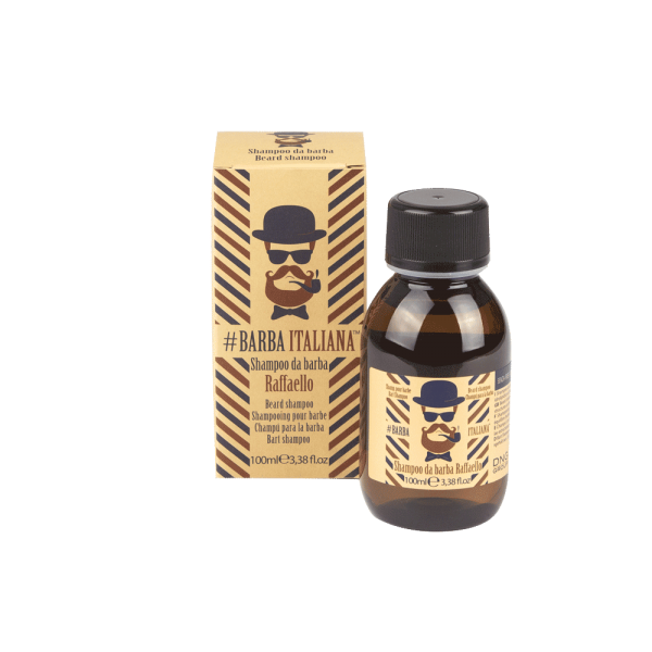 Sampon pentru barba - RAFFAELLO beard shampoo 100ml